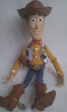 Disney Pixar Big Talking Toy Story 'Sheriff Woody Cowboy' Pull String Collectable Toy